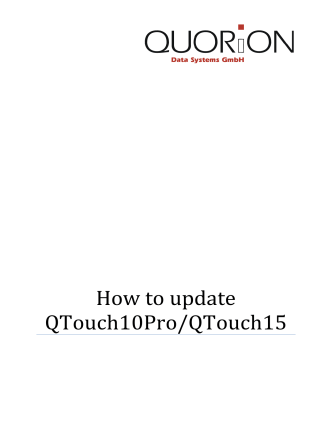 How to update QTouch10 - stoffeloffice.ch