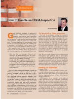 How to Handle an OSHA Inspection - EHS Safety News America