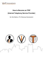How to Become an ITSP (Internet Telephony Service