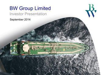 How to use BW PPT Guide - BW Maritime