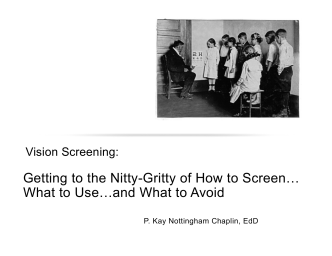 Getting to the Nitty-Gritty of How to Screen… What to Use…and