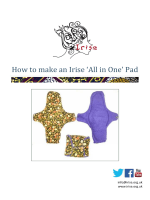 How to make an Irise All in One Pad
