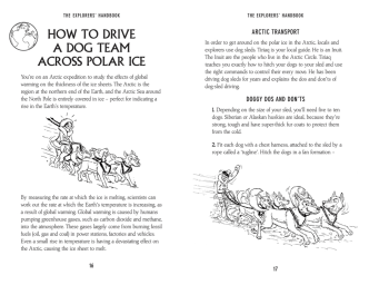 } HOW TO DRIVE A DOG TEAM ACROSS POLAR ICE - Buster Books