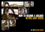 How to become a soldier in five easy steps. - Defence Jobs