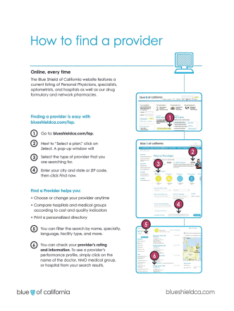 How To find a provider
