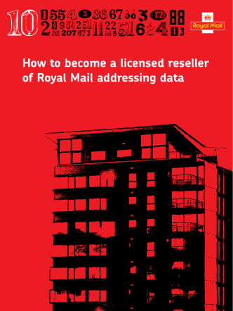 How to become a licensed reseller of Royal Mail addressing data