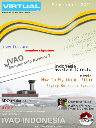 How To Fly Circuit Pattern - IVAO - Indonesia Division