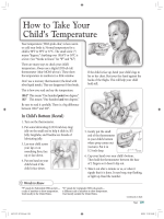 How to Take Your Childs Temperature - University Pediatric