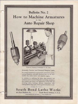 How to Machine Armatures