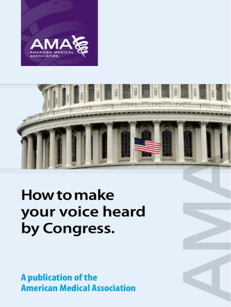 How to make your voice heard by Congress. - Patients Action Network