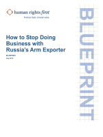 How to Stop Doing Business with Russias Arm Exporter