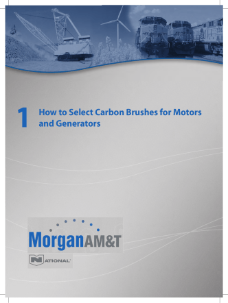How to Select Carbon Brushes for Motors and Generators