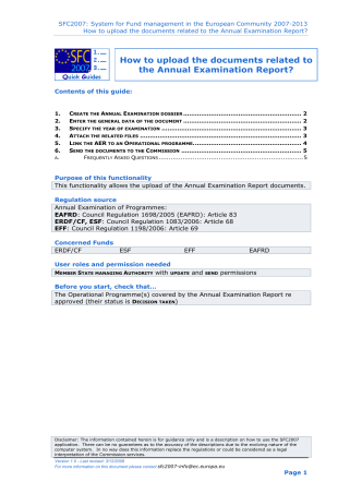 How to upload the documents related to the Annual Examination