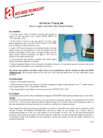 How to Apply AST-SEAL™ Std  HD Anaerobic Pipe Thread Sealants