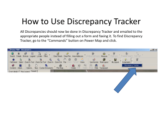 How to Use Discrepancy Tracker