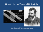How to do the Boltzmann Lab - OpenWetWare