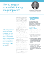 How to integrate preanesthetic testing into your practice - Idexx