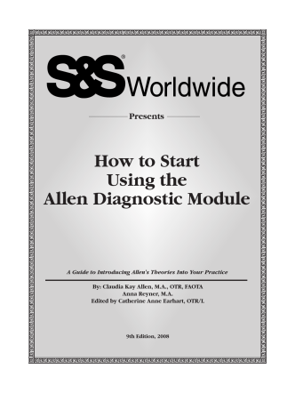 How to Start Using the Allen Diagnostic Module - SS Worldwide