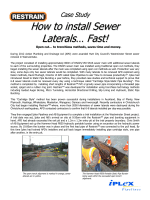 How to install Sewer Laterals… Fast! - Iplex Pipelines