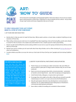 ART: HOW TO GUIDE - Peace One Day