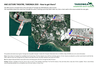 ANZ Lecture Theatre, Taronga Zoo - how to get there