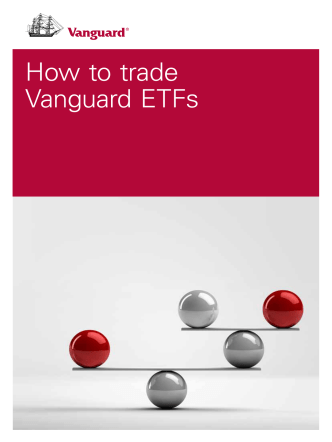 How to trade Vanguard® ETFs - Western Pacific Financial Group