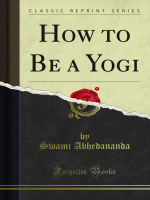 How to Be a Yogi - Forgotten Books