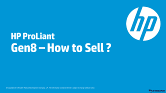Gen8 –How to Sell ?