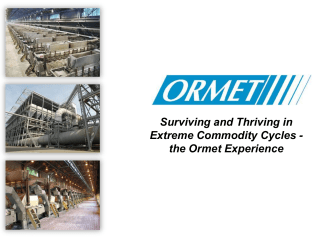 How to Survive 2009 – A True Story - Ormet