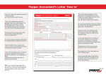 Pepper Accountants Letter How to