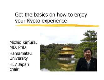 Get the basics on how to enjoy your Kyoto experience - HL7