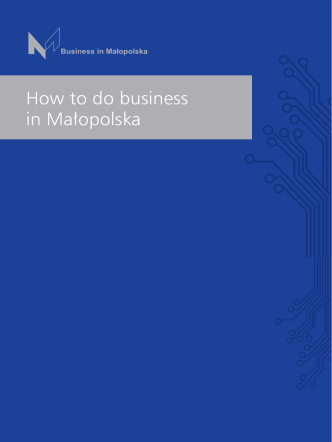 How to do business in Małopolska - Centrum Business in Małopolska