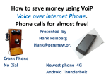 How to save money using VoiP Voice over Internet phone - apcug