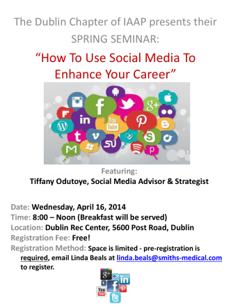 """How To Use Social Media To Enhance Your Career"""