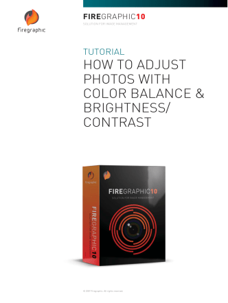 HOW TO ADJUST PHOTOS WITH COLOR BALANCE - Firegraphic