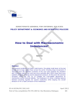 How to Deal with Macroeconomic Imbalances? - European Parliament