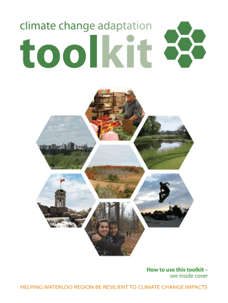How to use this toolkit – see inside cover - TransitionKW