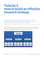 Tutorial 3. How to build an effective keyword strategy - Wordtracker