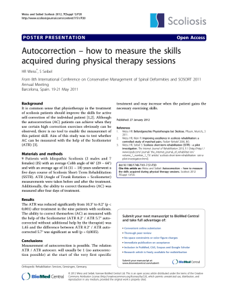 Autocorrection – how to measure the skills - BioMed Central