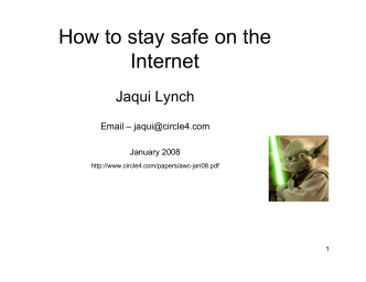 How to stay safe on the Internet - Circle4.com