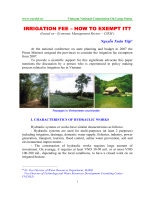 IRRIGATION FEE IRRIGATION FEE – HOW TO EXEMPT - vncold.vn