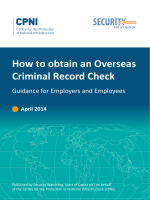 How to obtain an Overseas Criminal Record Check - CPNI
