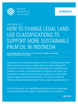 How to CHANgE LEgAL LAND USE CLASSIfICAtIoNS to SUPPort