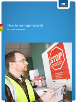 ACC How to Manage Hazards