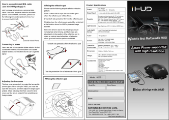How to use customized MHL cable (see it in - Smartauto24.com