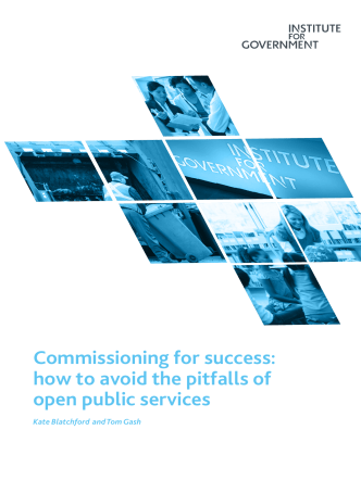 Commissioning for success: how to avoid the pitfalls of open public