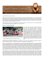 HOW TO END ABORTION - Anti-Choice Project