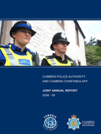 How to Use this Document - Cumbria Constabulary