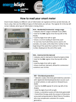 How to read your smart meter - CenterPoint Energy