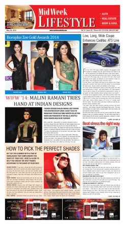 HOW TO PICK THE PERFECT SHADES WIFW - South Asian Daily